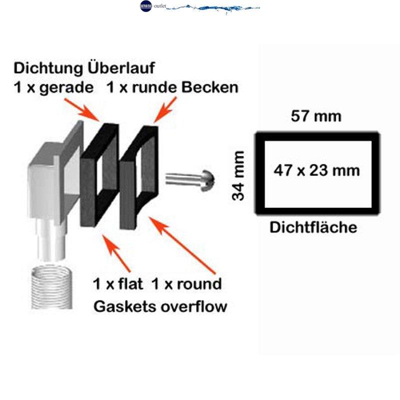 Universal Ablaufgarnitur 3,5 Zoll Edelstahlablauf Servicekappe Siphon Küche Spül
