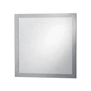 Design Spiegel mit Metallrahmen - quadratisch